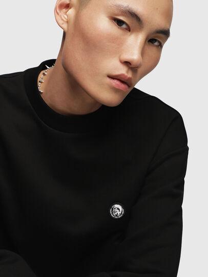 Diesel - S-LINK, Black - Sweaters - Image 5
