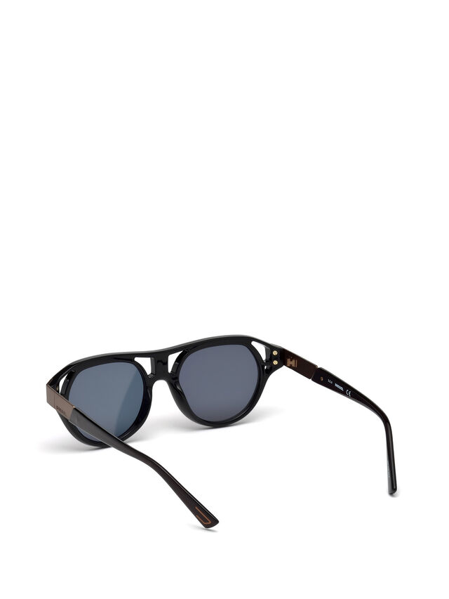 Diesel - DL0233, Black - Sunglasses - Image 4