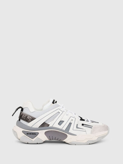 Diesel - S-KIPPER LOW TREK, White/Grey - Sneakers - Image 1