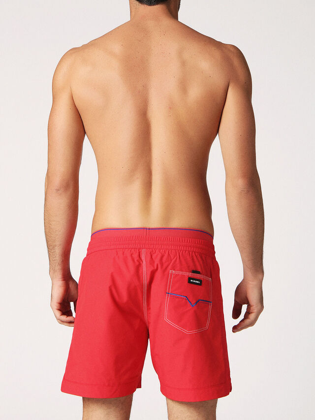Diesel BMBX-DOLPHIN-S 2.017, Red - Swim shorts - Image 2