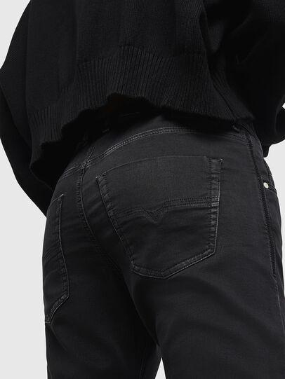 Diesel - Krailey JoggJeans 0687Z, Black/Dark grey - Jeans - Image 4