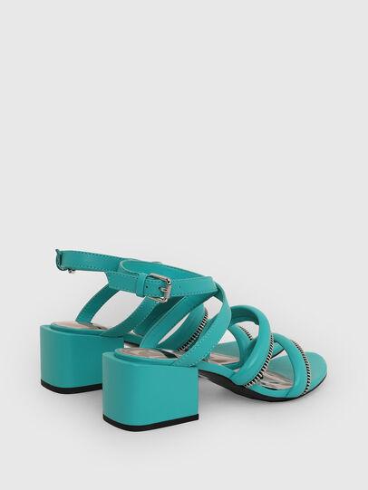 Diesel - SA-JAYNET, Azure - Sandals - Image 3