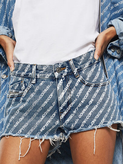 Diesel - DE-RIFTY, Medium blue - Shorts - Image 1