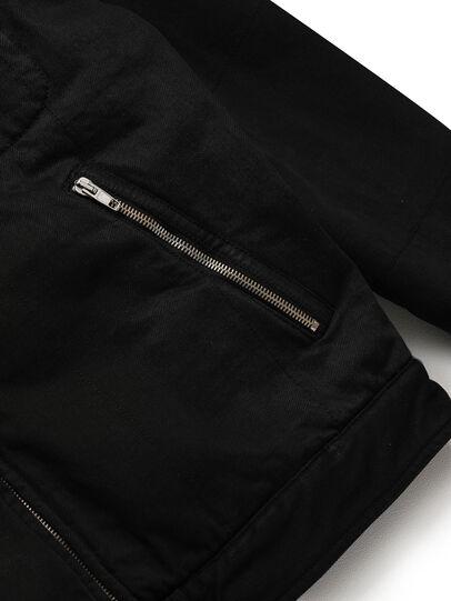Diesel - GR02-J301, Black - Denim Jackets - Image 4