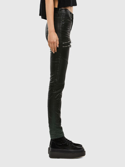 Diesel - D-Ollies JoggJeans 069QQ, Black/Dark grey - Jeans - Image 3