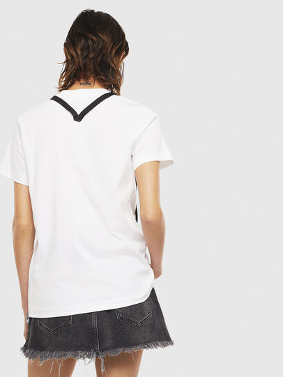 Diesel - T-SILY-S3, White - T-Shirts - Image 2