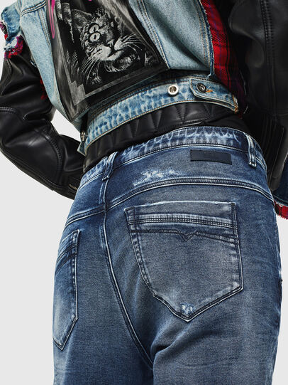 Diesel - Fayza JoggJeans 0096M, Dark Blue - Jeans - Image 4