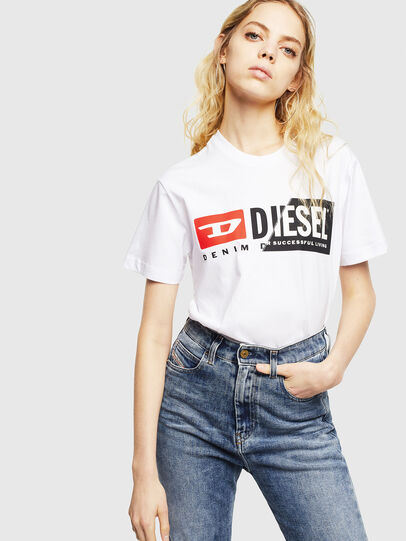 Diesel - T-DIEGO-CUTY, White - T-Shirts - Image 6
