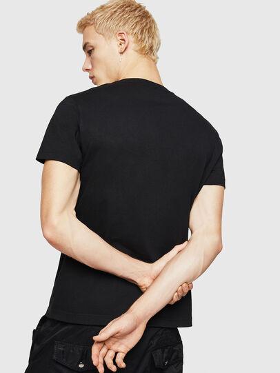 Diesel - T-DIEGO-DIV, Black - T-Shirts - Image 3