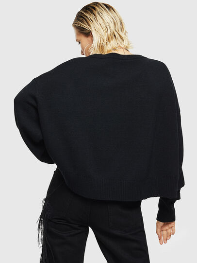 Diesel - M-LUREXY, Black - Knitwear - Image 2