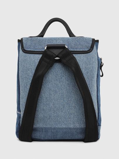 Diesel - DENIPACK, Blue Jeans - Backpacks - Image 3