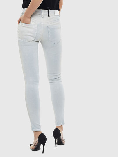 Diesel - Slandy 0099W, Light Blue - Jeans - Image 2