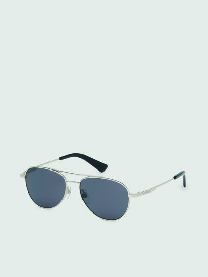 Diesel - DL0291, Silver/Black - Kid Eyewear - Image 2