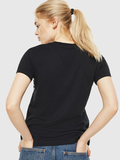 Diesel - T-SILY-WP, Black - T-Shirts - Image 2