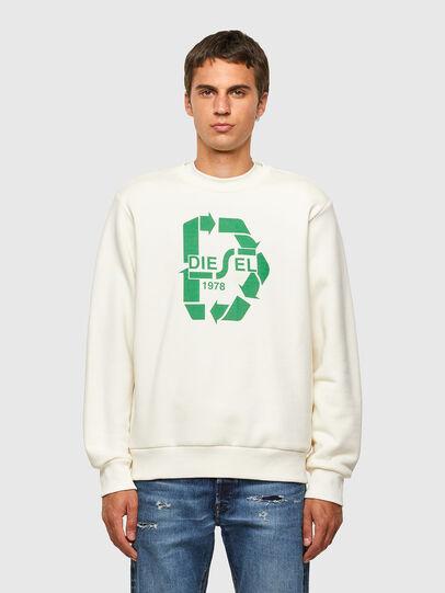 Diesel - S-GIRK-N81, White - Sweaters - Image 1