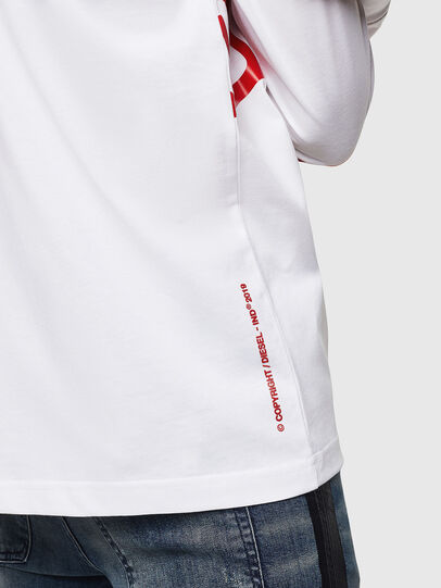 Diesel - T-JUST-LS-STAR,  - T-Shirts - Image 5