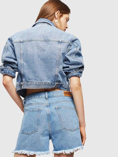 Diesel - DE-LOWY, Light Blue - Shorts - Image 2