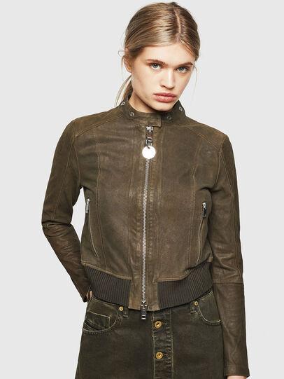 Diesel - L-LYSSA-G,  - Leather jackets - Image 1