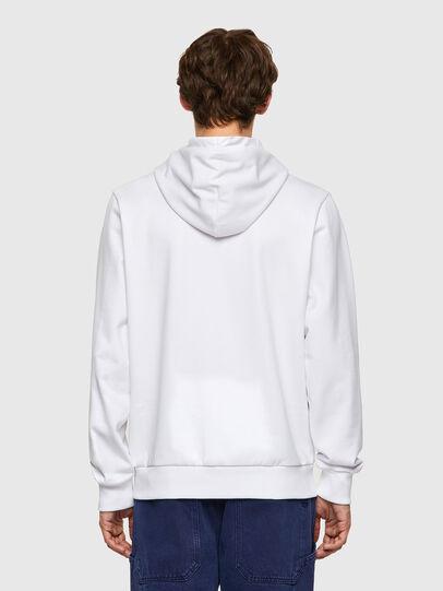 Diesel - S-GIRK-HOOD-K11, White - Sweaters - Image 2