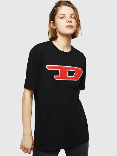 Diesel - T-JUST-DIVISION-D-FL,  - T-Shirts - Image 1