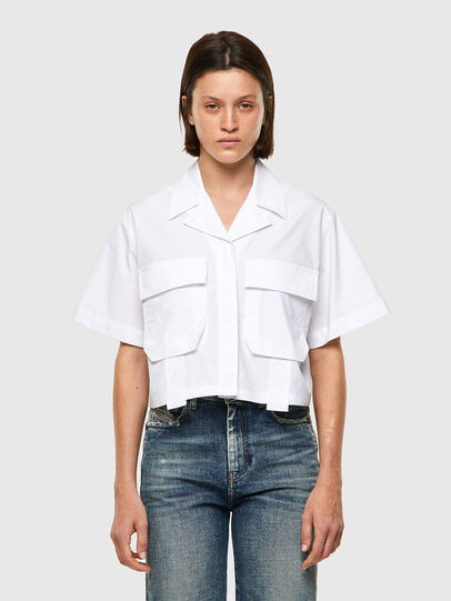 Diesel - C-ADARA-A, White - Shirts - Image 1