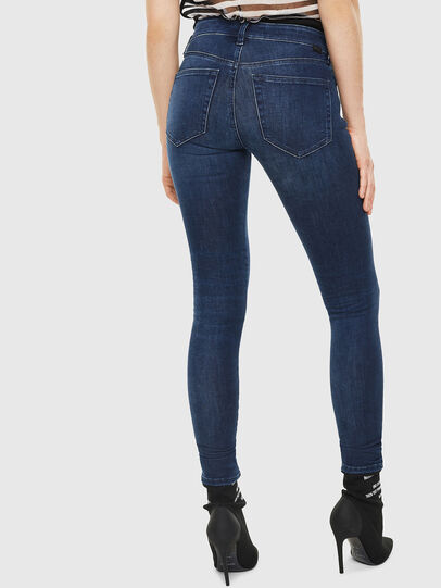 Diesel - Slandy 0890K, Dark Blue - Jeans - Image 2