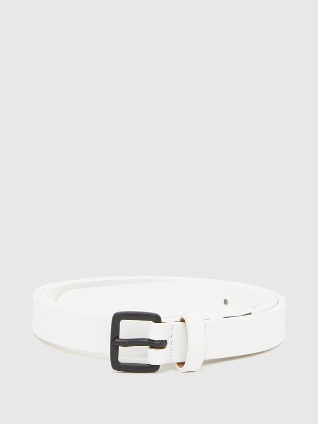 B-LOWGO, White - Belts