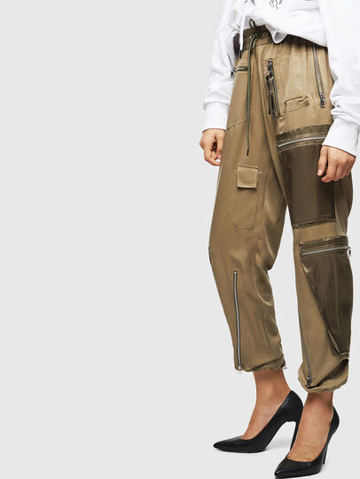 Diesel - P-LEX, Military Green - Pants - Image 5