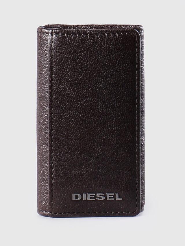 Diesel - KEYCASE O, Brown - Bijoux and Gadgets - Image 1