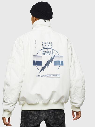 Diesel - W-OKSO, White - Winter Jackets - Image 4