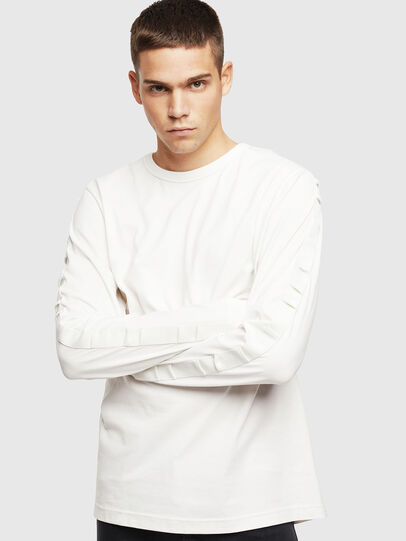 Diesel - T-JUST-LS-BX3, White - T-Shirts - Image 1