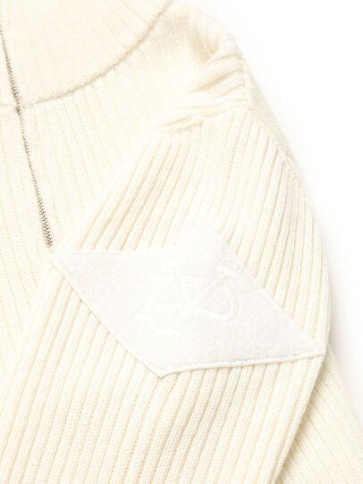 Diesel - GR02-N301, White - Knitwear - Image 4