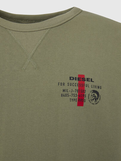 Diesel - UMLT-WILLY, Olive Green - Sweaters - Image 3