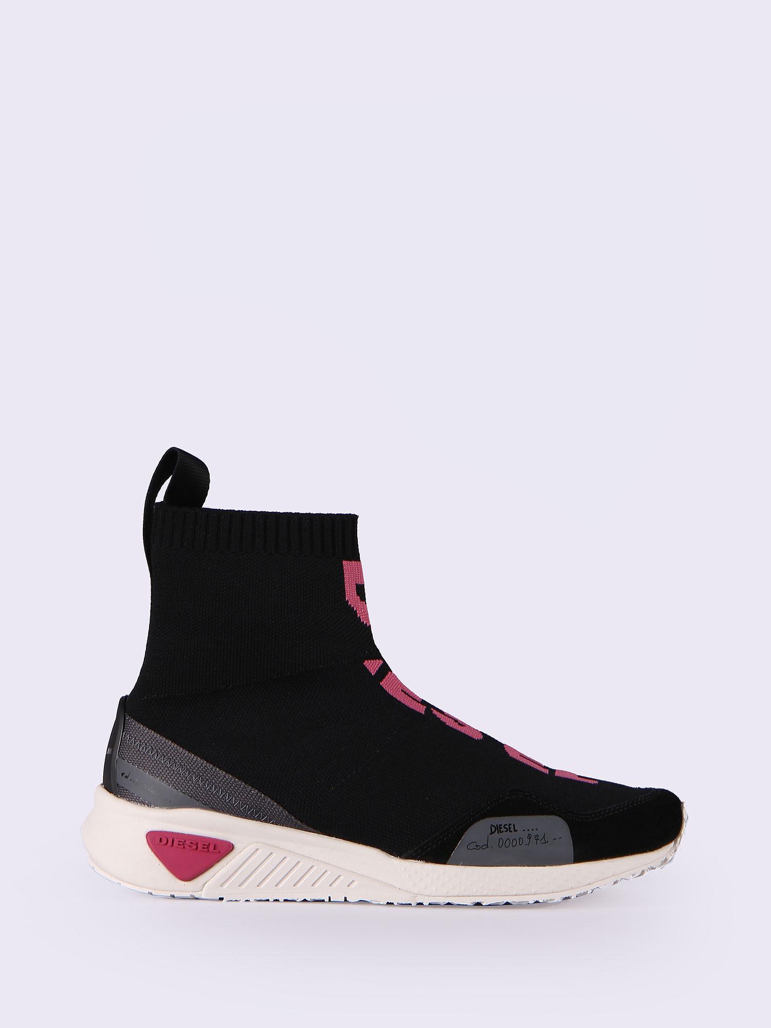 Diesel Black Knit Sock Chelsea Boots 5dwEYt