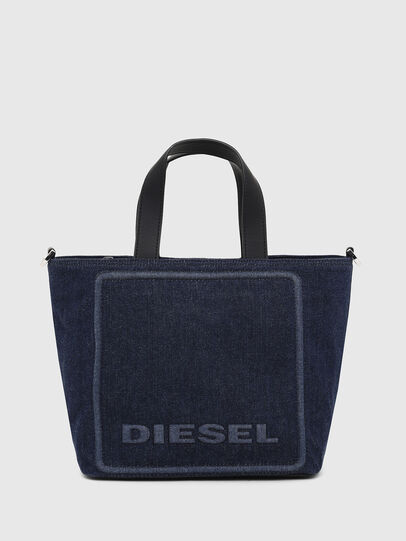 Diesel - PUMPKIE, Dark Blue - Satchels and Handbags - Image 1