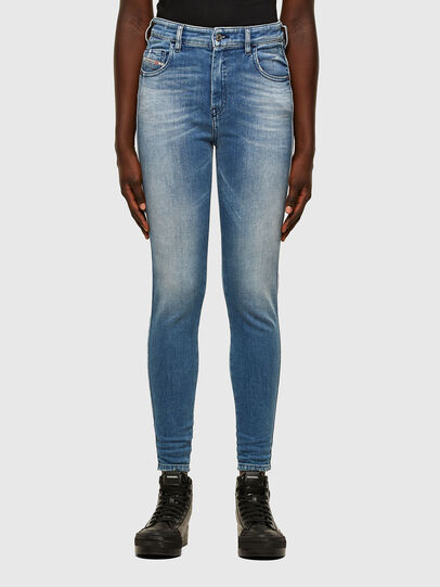 Diesel - Slandy High 009JI, Light Blue - Jeans - Image 1