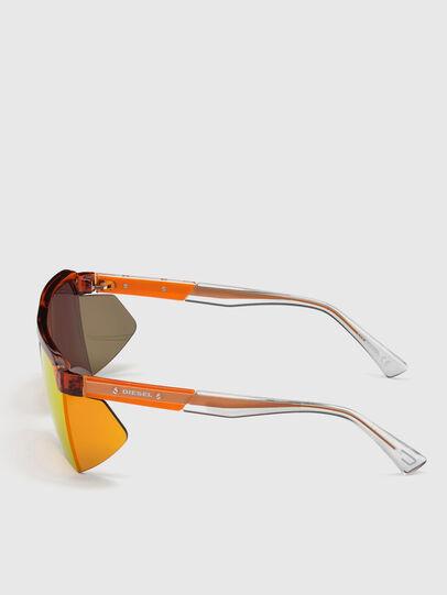 Diesel - DL0319, Orange - Sunglasses - Image 3