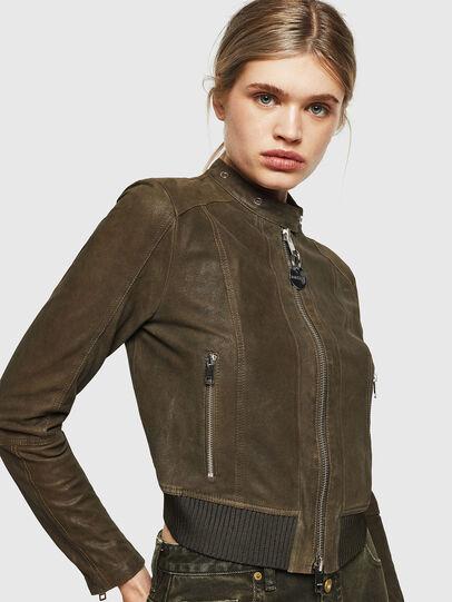 Diesel - L-LYSSA-G,  - Leather jackets - Image 4