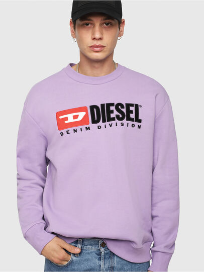 Diesel - S-CREW-DIVISION, Lilac - Sweaters - Image 1