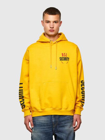 Diesel - S-UMMER-N72, Yellow - Sweaters - Image 1