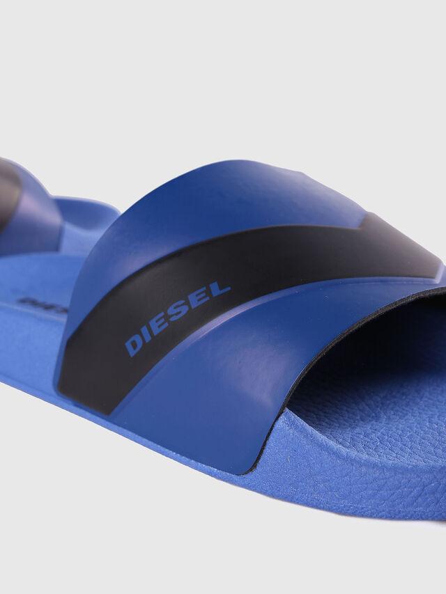 Diesel - SA-MARAL, Blue - Slippers - Image 4