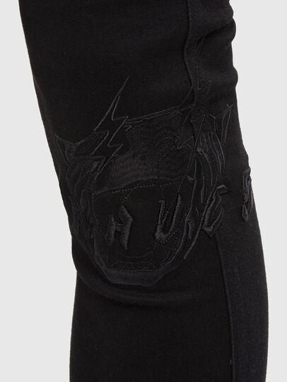 Diesel - D-Istort 069QT, Black/Dark grey - Jeans - Image 3