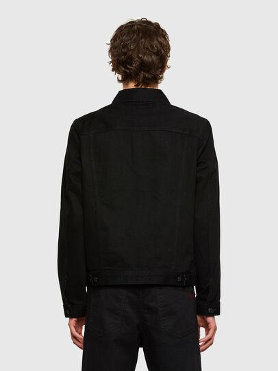 Diesel - NHILL-C1, Black - Denim Jackets - Image 3