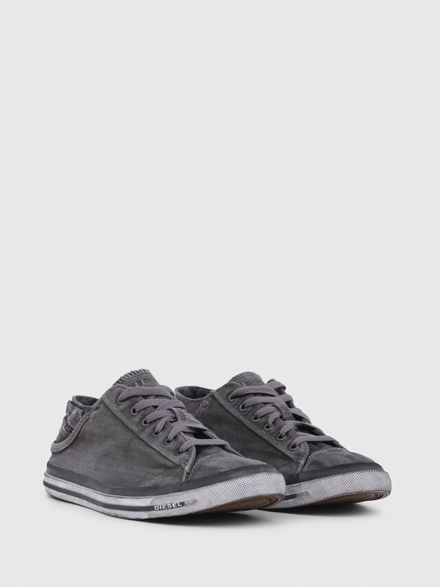 Diesel EXPOSURE LOW I, Metal Grey - Sneakers - Image 2