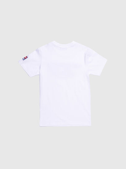 Diesel - TJUSTDIVISION-D, White - T-shirts and Tops - Image 2