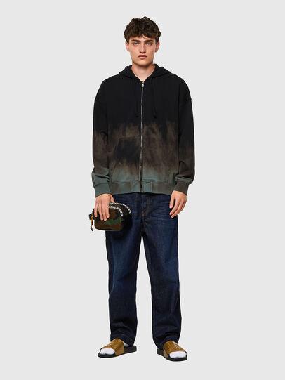 Diesel - S-UMMER-ZIP-B1, Grey - Sweaters - Image 5