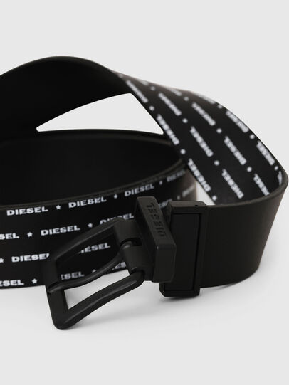 Diesel - B-DOUCKLE, Black - Belts - Image 2