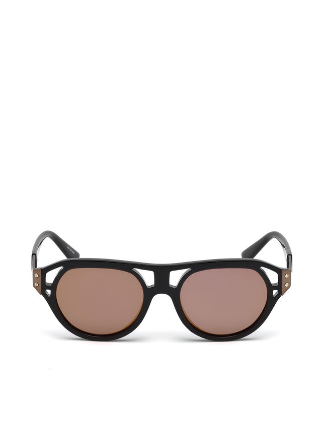 Diesel - DL0233, Black - Sunglasses - Image 1