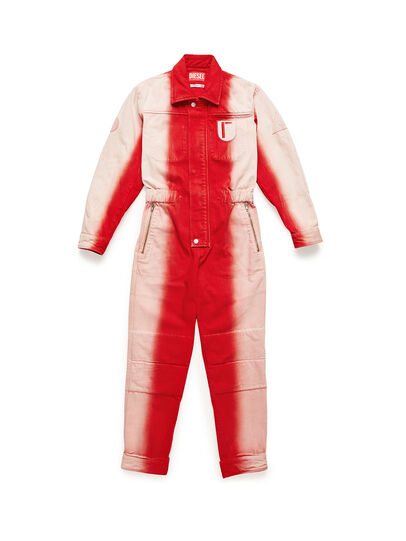 Diesel - GR02-U301, Red/White - Jumpsuits - Image 1