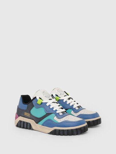 Diesel - S-RUA LOW SK, Blue - Sneakers - Image 2